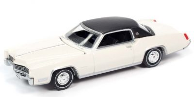 AUTO WORLD 1/64scale 1967 Cadillac Eldorado Greek White / Flat Black  [No.AW64272A1W]