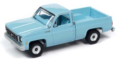 AUTO WORLD 1/64scale 1979 Chevy Scottsdale Light Blue  [No.AW64272A2BL]