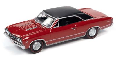 AUTO WORLD 1/64scale 1967 Chevy Chevelle SS Bolero Red  [No.AW64272A5R]