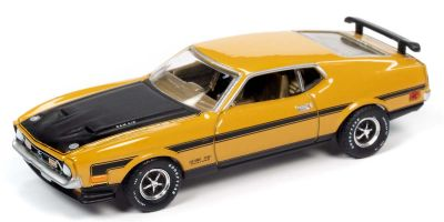 AUTO WORLD 1/64scale 1971 Mustang Boss 351 Mad Yellow / Black  [No.AW64272A6Y]
