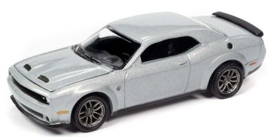 AUTO WORLD 1/64scale 2019 Dodge Challenger Hellcat Triple Nickel Silver  [No.AW64272B3SV]