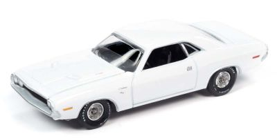 AUTO WORLD 1/64scale 1970 Dodge Challenger R / T F8 Gross White  [No.AW64272B4W]