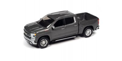 AUTO WORLD 1/64scale 2019 Chevy Silverado LTZ Z71 Gray  [No.AW64282A1G]
