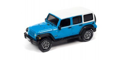 AUTO WORLD 1/64scale 2018 Jeep Wrangler JK Unlimited Sport Blue  [No.AW64282A6BL]