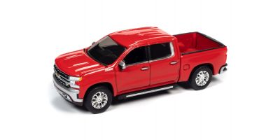 AUTO WORLD 1/64scale 2019 Chevy Silverado LTZ Z71 Red  [No.AW64282B1R]