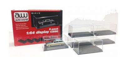 AMERICAN MUSCLE -scale Display Case for 1:64 scale model cars (6 Pack) (made of plastic)  [No.AWDC008]