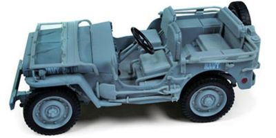AMERICAN MUSCLE 1/18scale Jeep WILLY 1941 Navy (Blue Gray)  [No.AWML002BG]