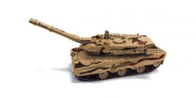 AUTO WORLD 1/40scale Leopard 2 TANK (Desert camouflage) ※ Brown series  [No.AWML004B]