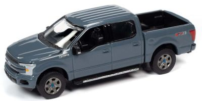 AUTO WORLD 1/64scale 2018 Ford F-150 (Gray)  [No.AWSP041A]