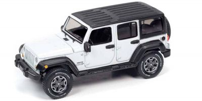 AUTO WORLD 1/64scale 2018 Jeep Wrangler JK 4 Door (Gloss White)  [No.AWSP042A]