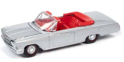 AUTO WORLD 1/64scale 1962 Chevy Impala SS Convertible (Satin Silver)  [No.AWSP045A]