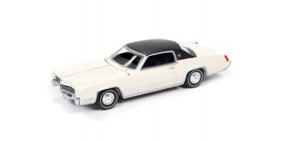 AUTO WORLD 1/64scale 1967 Cadillac Eldorado Greek White / Black Roof  [No.AWSP047A]