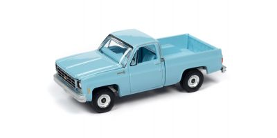AUTO WORLD 1/64scale 1979 Chevrolet C10 Scottsdale Light Blue  [No.AWSP048A]