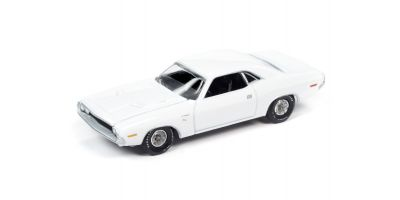 AUTO WORLD 1/64scale 1970 Dodge Challenger R / T Gross White  [No.AWSP050B]