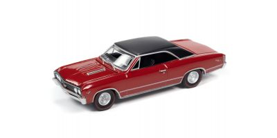 AUTO WORLD 1/64scale 1967 Chevy Chevelle SS Bolero Red / Black Roof  [No.AWSP051A]