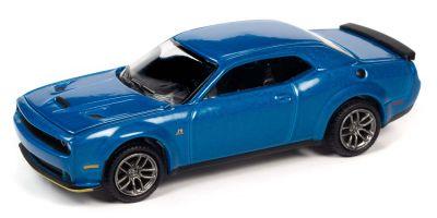 AUTO WORLD 1/64scale 2019 Dodge Challenger R / T Scat Pack Blue Metallic  [No.AWSP061B]