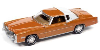 AUTO WORLD 1/64scale 1975 Cadillac Eldorado Mandarin Orange / White  [No.AWSP070A]