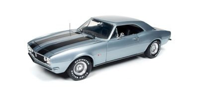 """AMERICAN MUSCLE 1/18scale 1967 Chevrolet Camaro movie """"Christine"""" Silver Blue  [No.AWSS114]"""