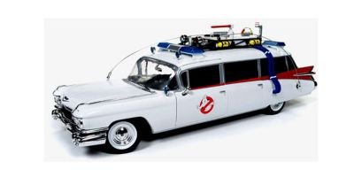AMERICAN MUSCLE 1/18scale 1959 Cadillac Ambulance ECTO-1 From Ghostbusters  [No.AWSS118]