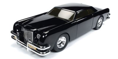 AMERICAN MUSCLE 1/18scale George Barris Car (THE.CAR car in the play) Black Sparkle  [No.AWSS120]
