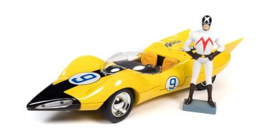 AMERICAN MUSCLE 1/18scale Speed Racer Shooting Star (Meteor) Racer X (Racer X) with figure  [No.AWSS125]