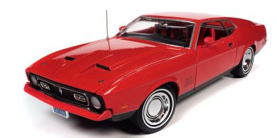 "AMERICAN MUSCLE 1/18scale 1971 Ford Mustang Mach 1 ""007 Diamonds Are Forever""  [No.AWSS126]"