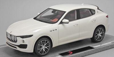 BBR 1/18scale Maserati Levante Geneva Motor Show 2016 Bianco Alpi Whitelimited 199pcs  [No.BBRC1809A]