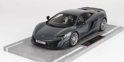 BBR 1/18scale McLaren 675 LT Chicane Gray [No.BBRC1814A]