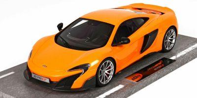 BBR 1/18scale McLaren 675 LT McLaren Orange [No.BBRC1814B]