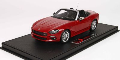 BBR 1/18scale FIAT 124 Spider Anniversary 2016 Rosso Passione with red case [No.BBRC1815AV]