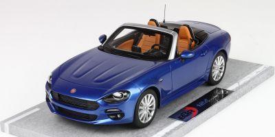 BBR 1/18scale Fiat 124 Spider Anniversary 2016 Azzurro Italia Blue  [No.BBRC1815D]