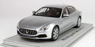 BBR 1/18scale Maserati Quattro Porte MY17 GranLusso 2015 Gray with Case  [No.BBRC1821CV]