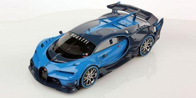 MR Collection 1/18scale Bugatti Vision Gran Turismo (blue)  [No.BUG05]