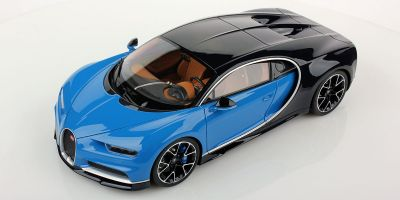 MR Collection 1/18scale Bugatti Shillong Le Patron/Bugatti Light Blue Sport  [No.BUG06A]