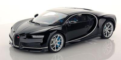 MR Collection 1/18scale Bugatti Chiron Black Uni  [No.BUG06C]
