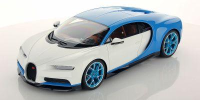 MR Collection 1/18scale Bugatti Chiron Bugatti Light Blue Sport / Glacier  [No.BUG06D]