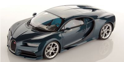 MR Collection 1/18scale Bugatti Chiron Blue Carbon  [No.BUG06H]