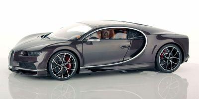 MR Collection 1/18scale Bugatti Chiron Brown Carbon  [No.BUG06I]