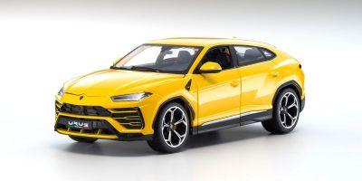 Bburago 1/18scale Lamborghini Urus (Yellow)  [No.BUR11042Y]