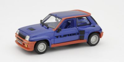 Bburago 1/24scale Renault 5 Turbo 1982 (Blue / Red)  [No.BUR21088BL]