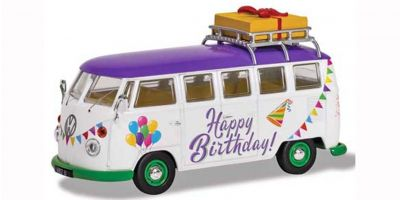 "CORGI 1/43scale VW Camper Van ""Happy Birthday""  [No.CGCC02734]"