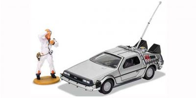 CORGI 1/36scale Back to the Future Delorean (with Doc Figure)  [No.CGCC05503]