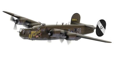 CORGI 1/72scale Consolidated B24 Hiberator 'Male Call' 453 rd Bombardment Group 8 th AF 1944 Jimmy Stewart  [No.CGAA34018]