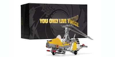 """CORGI 1/36scale Gyrocopter (Little Nelly) 007 NEW Package """"You Only Live Twice"""" (""""You Only Live Twice"""")  [No.CGCC04604]"""