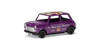 CORGI 1/36scale Austin Mini Purple The 90th Birthday of Queen Elizabeth II  [No.CGCC82107]
