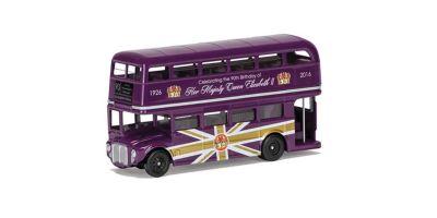 CORGI 1/64scale Classic Route Master Purple The 90th Birthday of Queen Elizabeth II  [No.CGCC82326]