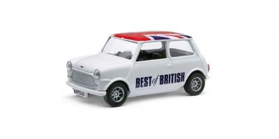 CORGI scale Best of British Classic Mini White / Union Jack  [No.CGGS82298]