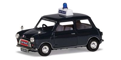 CORGI 1/43scale Austin Mini 850 RAF Police.   [No.CGVA01318]
