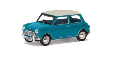 CORGI 1/43scale Austin Mini Mk1 Cooper S Surf Blue 60th Anniversary Collection [No.CGVA02538]
