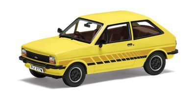 CORGI 1/43scale Ford Fiesta Mk1 'Festival' Prairie Yellow  [No.CGVA12509]